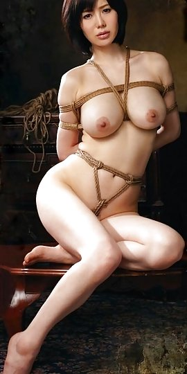 Naked asian women tied you
